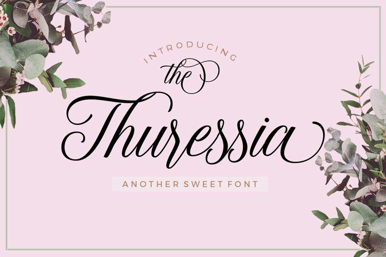 The Thuressia Script example image 1