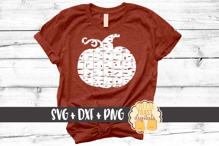 Distressed Pumpkin - Fall SVG File - Pumpkin SVG example image 1