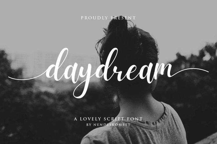 daydream - a lovely script font example image 1