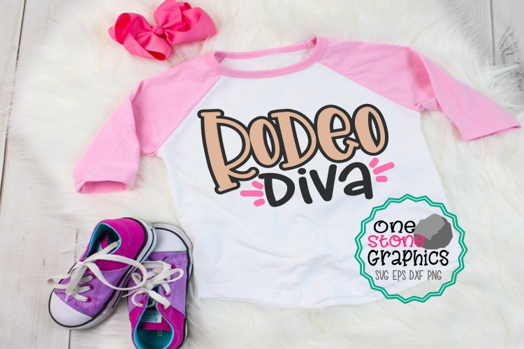 Rodeo svg,Rodeo diva,Girl svg,Rodeo diva cut file example image 1