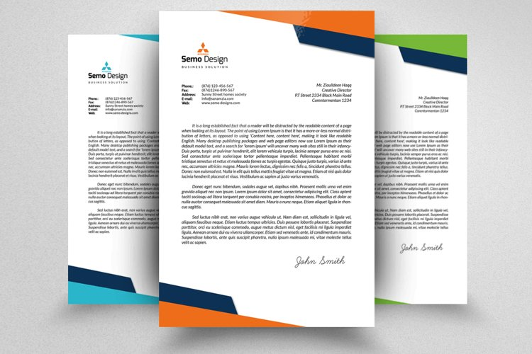 Professional Business Letterheads example image 1