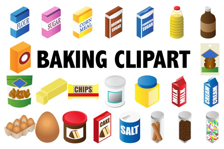 Baking Clipart example image 1