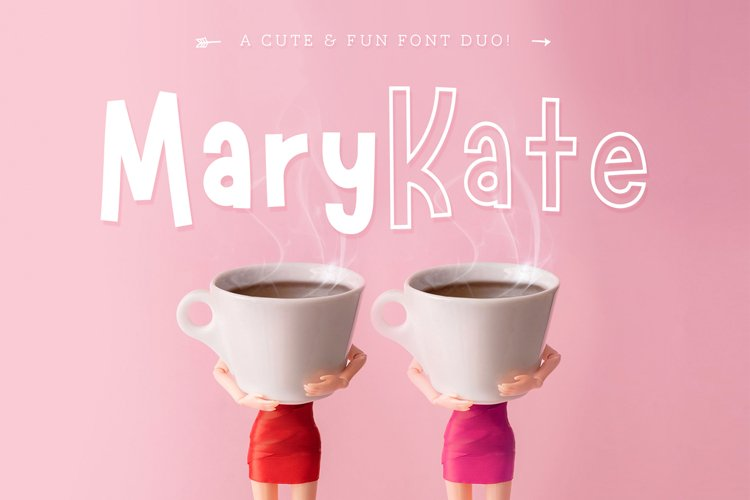 Marykate Font Duo example image 1