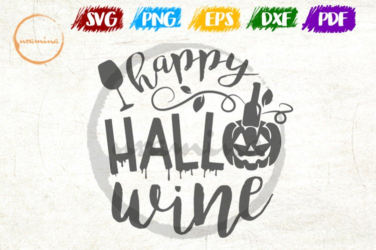 Happy Halowine SVG Cut Files and PDF Printable Files