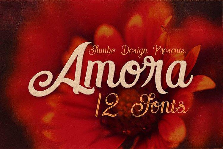 Amora Script example image 1