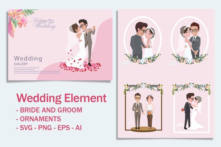 Wedding Elements / Bride & Groom Characters