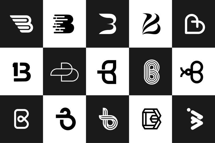 The Logos Letter Alphabet B