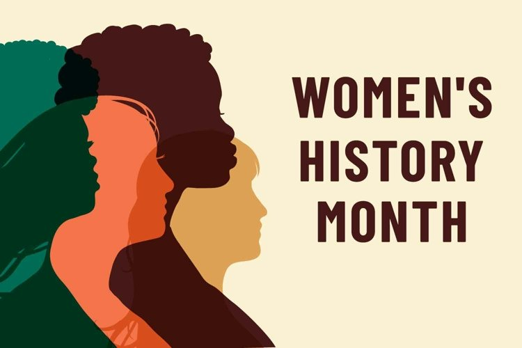 Womens History Month. Women's day. example image 1