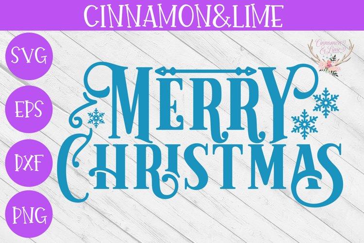 Christmas Svg - Merry Christmas Vintage Sign