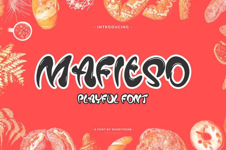Mafieso - Playful Font example image 1