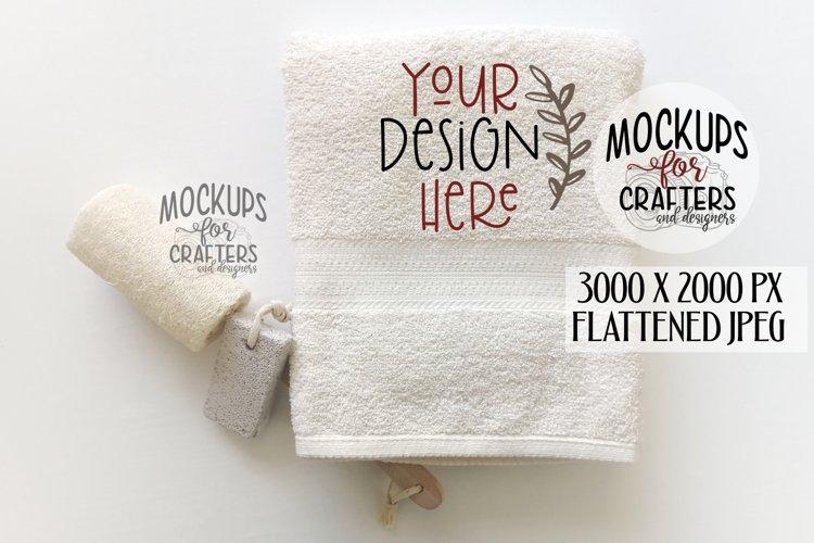 Bath Towel, MOCK-UP