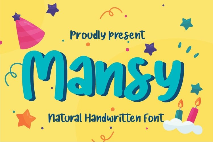 Mansy a Handwritten