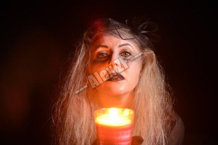 Halloween woman
