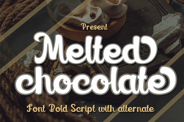 Melted chocolate example image 1