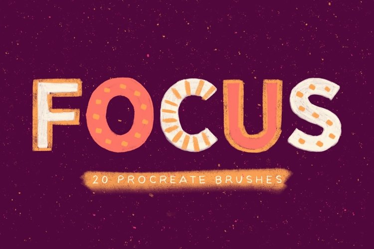 Focus - Procreate Brushes example image 1