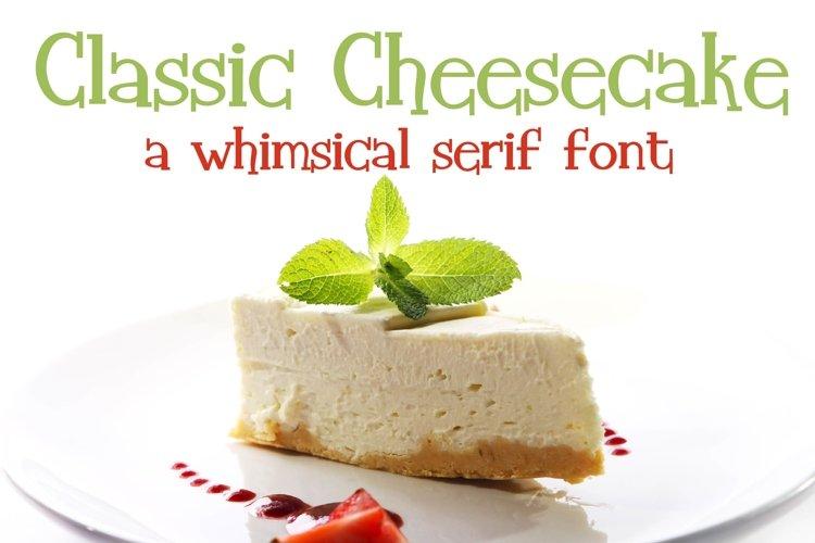 ZP Classic Cheesecake example image 1
