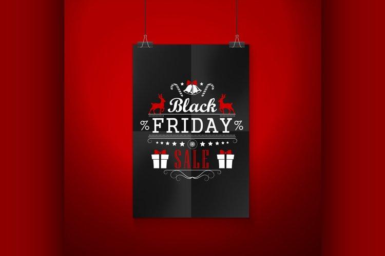 Black Friday Sale Emblem example image 1