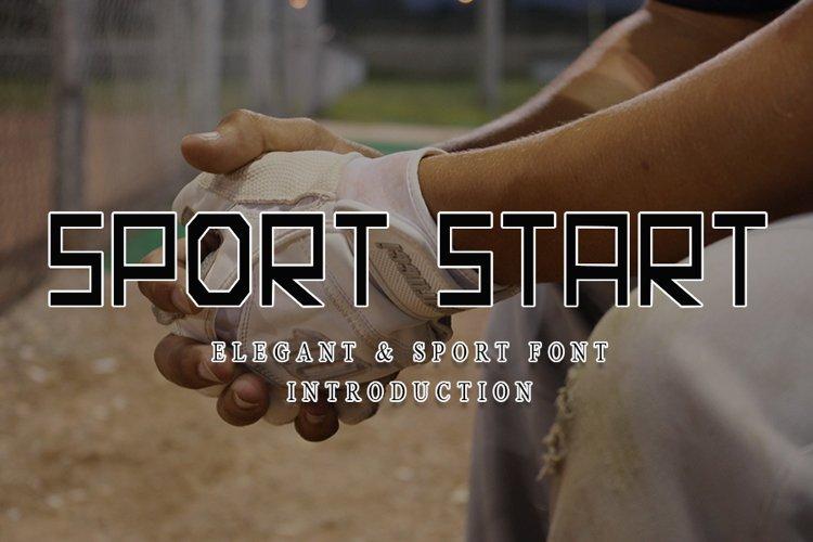 Sport Start example image 1