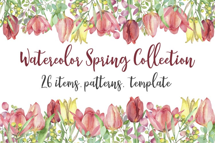 Spring Collection Watercolor