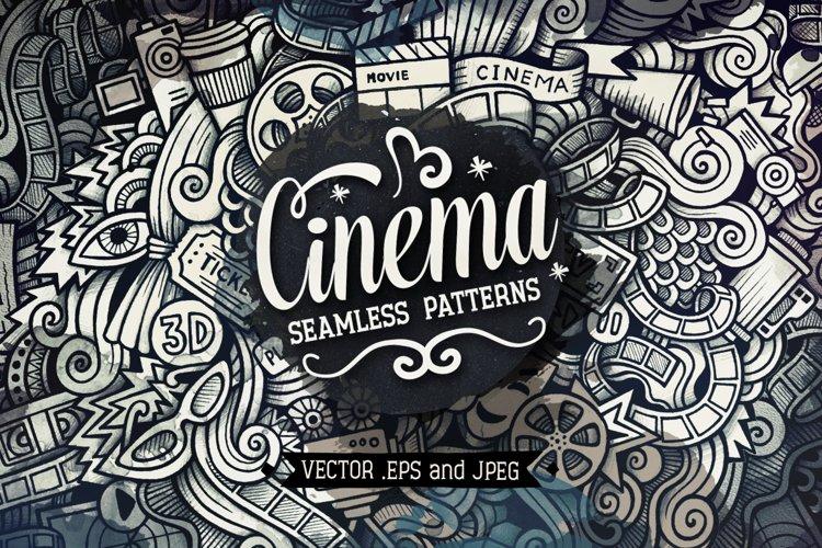 Cinema Graphics Doodle Patterns