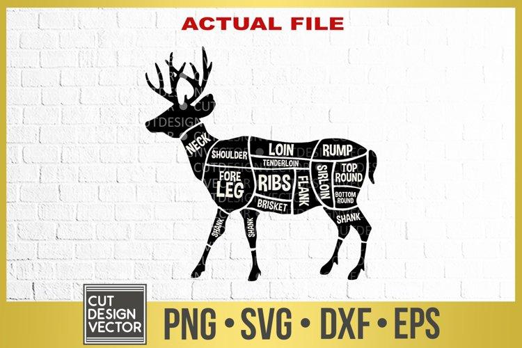 Download Deer Meat Cuts Svg 305296 Svgs Design Bundles