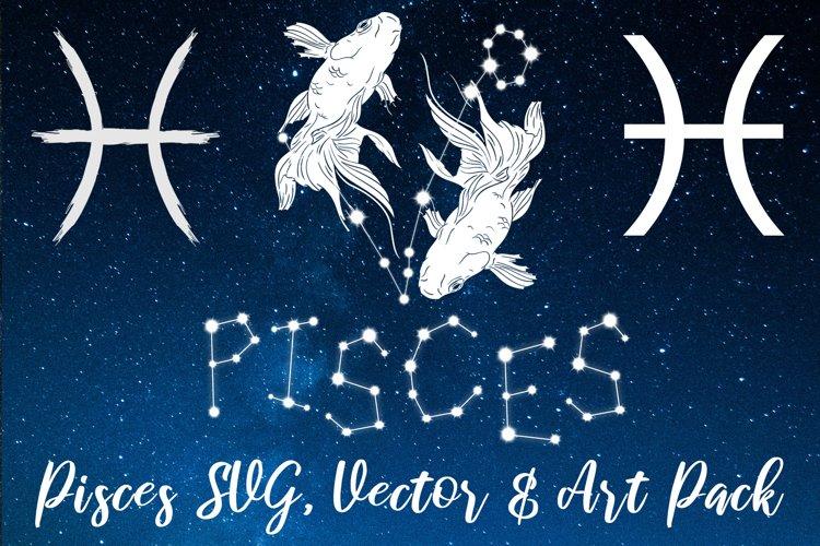 Pisces Zodiac, Constellation, Horoscope, Celestial Pack example image 1