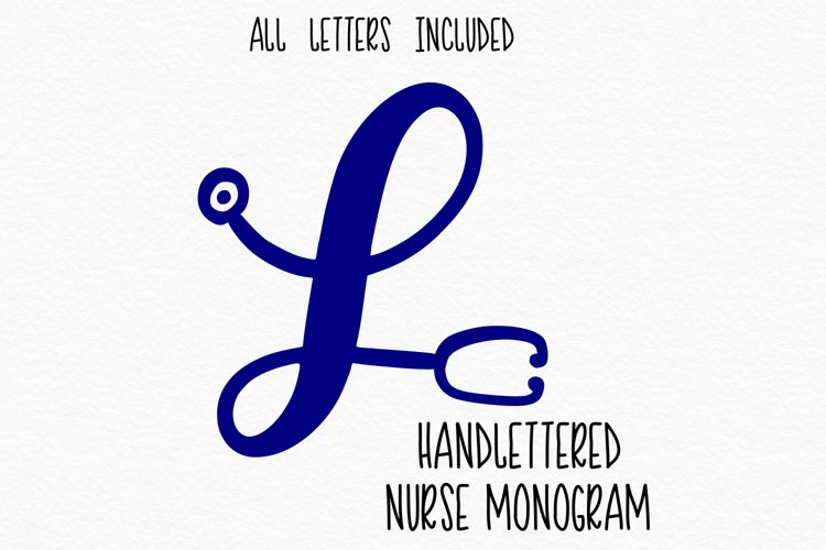 Nurse Stethoscope Alphabet