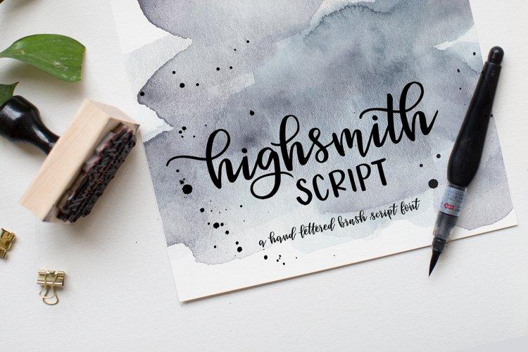 Highsmith Script example image 1