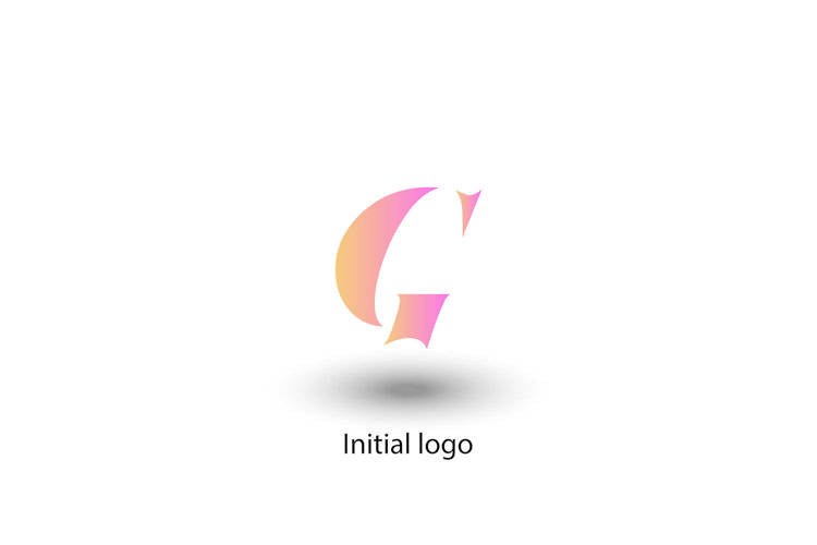 initial letter g, for your company logo , vector design example image 1