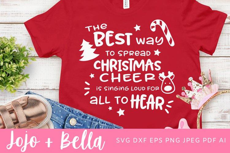 Christmas Svg | Christmas Cheer Svg example image 1