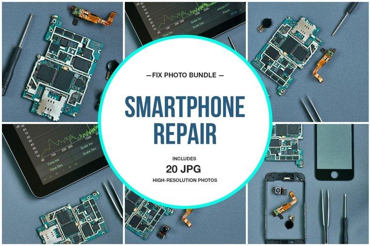 Smartphone Repair Photo Bundle