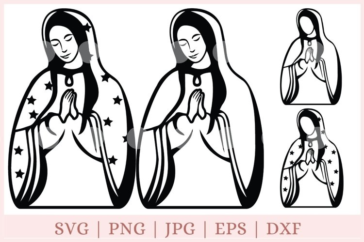 Virgin Of Guadalupe Svg Our Lady Of Guadalupe Svg 848513 Cut Files Design Bundles