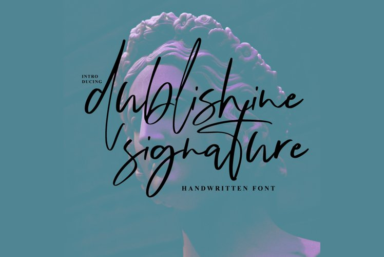 Dublishine Signature