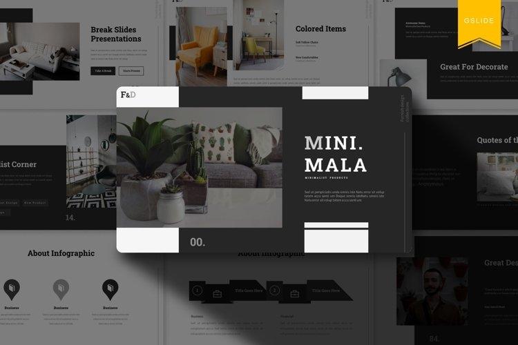 Minimala | Google Slides Template example image 1
