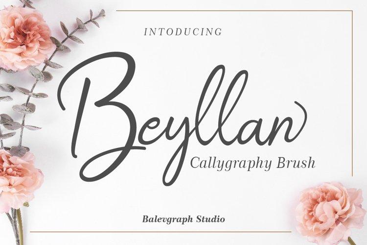 Beyllan Calligraphy Brush example image 1