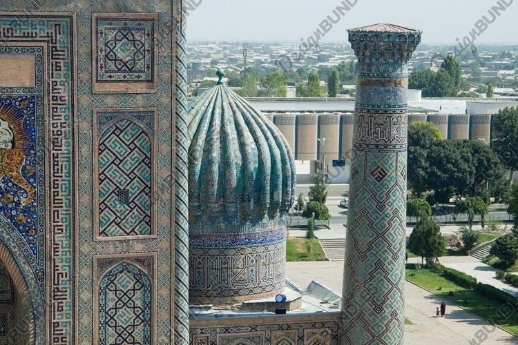 Ancient architecture of Central Asia. Samarkand, Uzbekistan example image 1