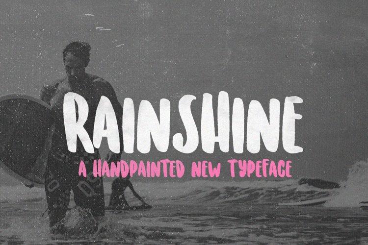 Rainshine Font example image 1