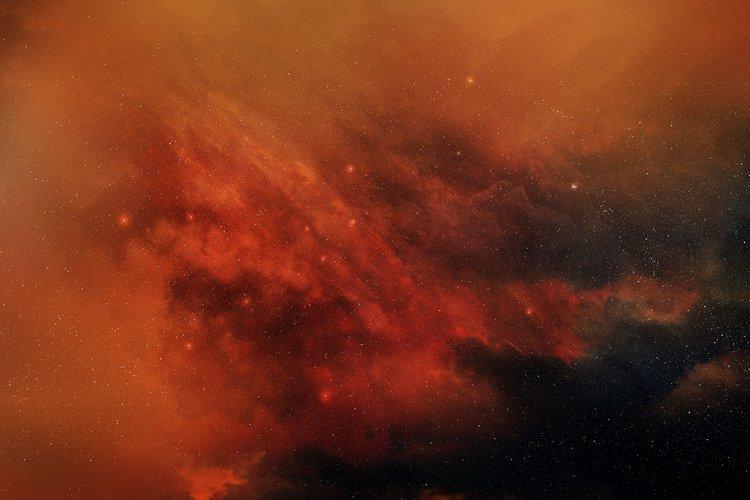 5 Realistic Nebula Backgrounds example 5