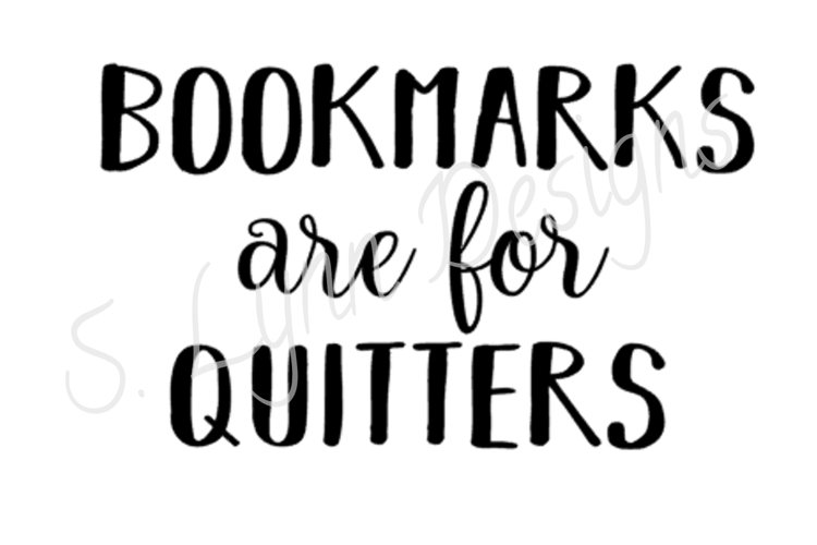 Bookmarks are for Quitters example image 1