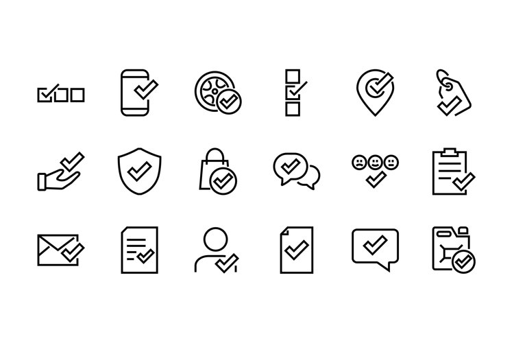 set of claim related vector ICON EPS 10
