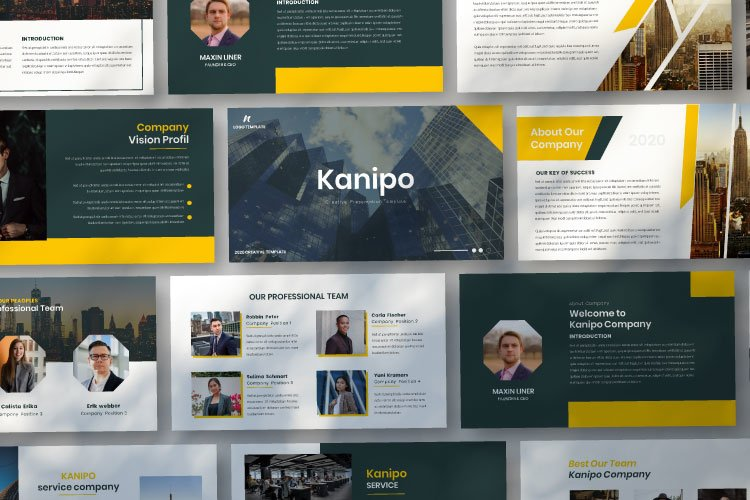 Kanipo-Business Google Slides Template example image 1