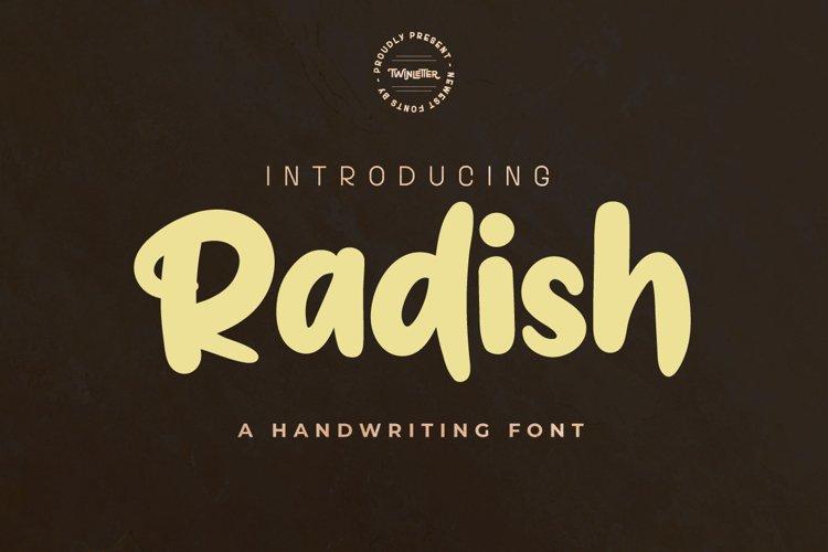 Radish example image 1