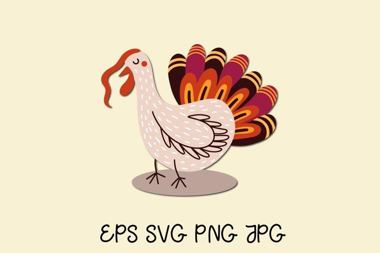 Turkey. Thanksgiving turkey clipart