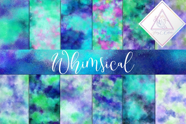 Whimsical Digital Paper example image 1