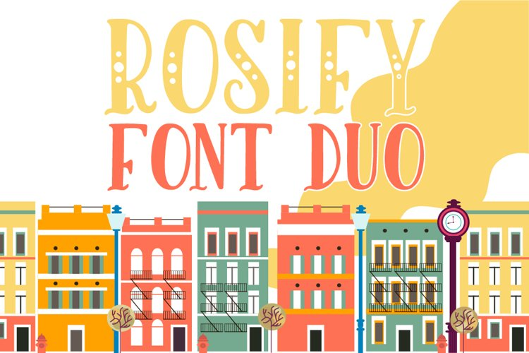 Rosify Dots Font Duo example image 1