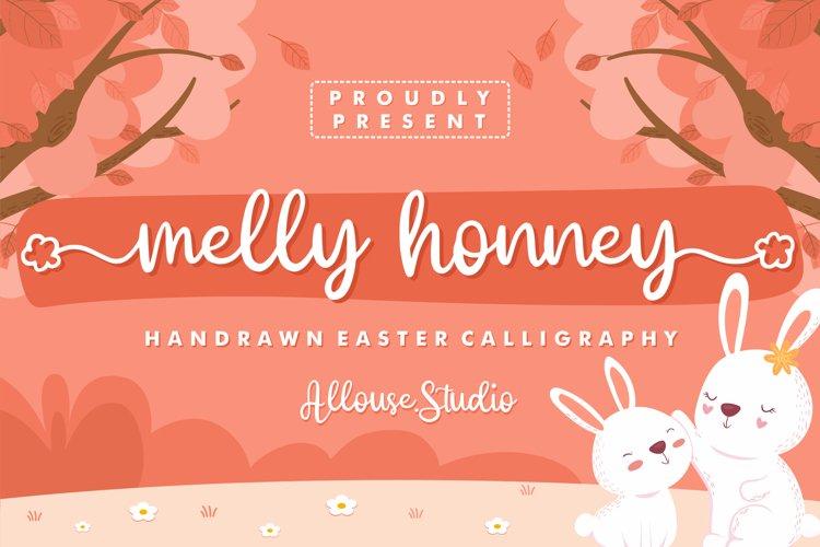 Web Font - Melly Honney example image 1