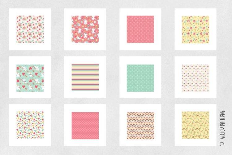 UNICORN, digital papers - Free Design of The Week Design0