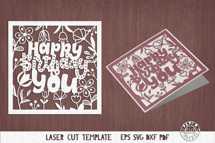 Download Svg Birthday Card Cut File For Cricut Silhouette Cameo 443138 Templates Design Bundles