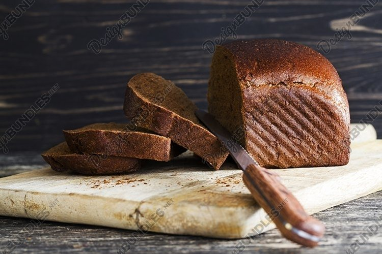 loaf of bread, sliced example image 1