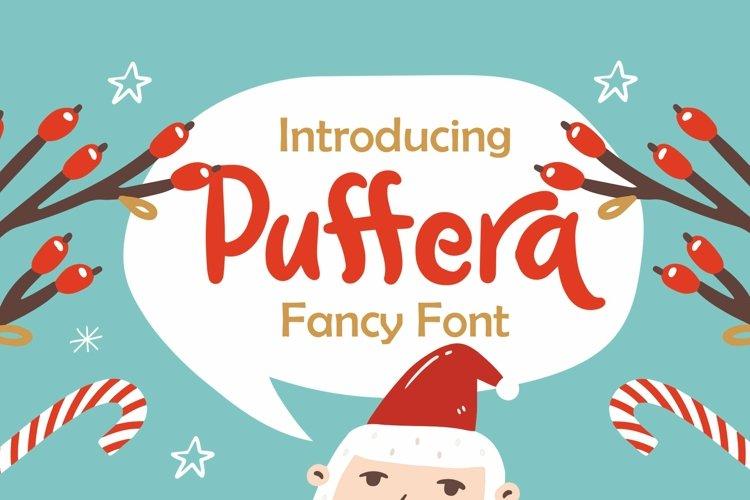 Web Font Puffera - Fancy Font example image 1